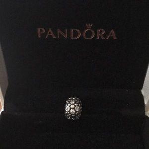 Pandora rhinestone spacer charm